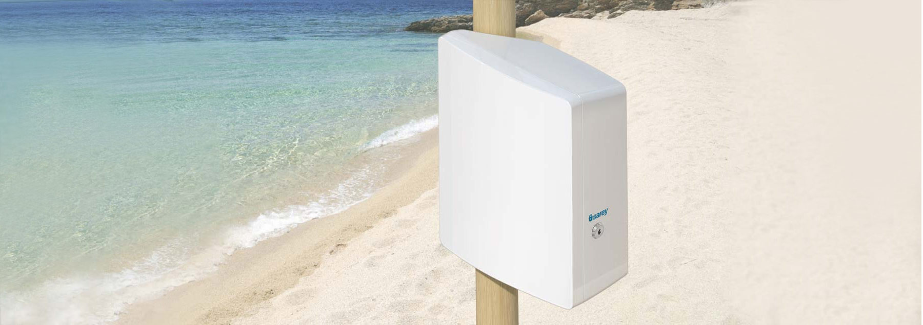 Safey safety box security solution for beach and pool